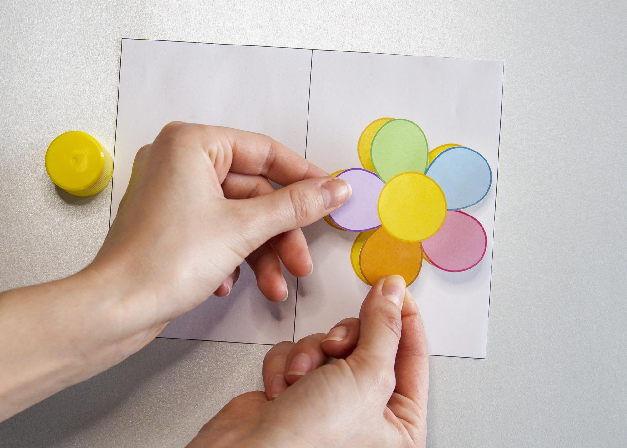 Ma carte fleur pour la fête des mères