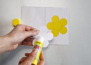 Carte fleur - étape 3