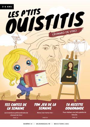 Les P'tits Ouistitis et Léonard de Vinci