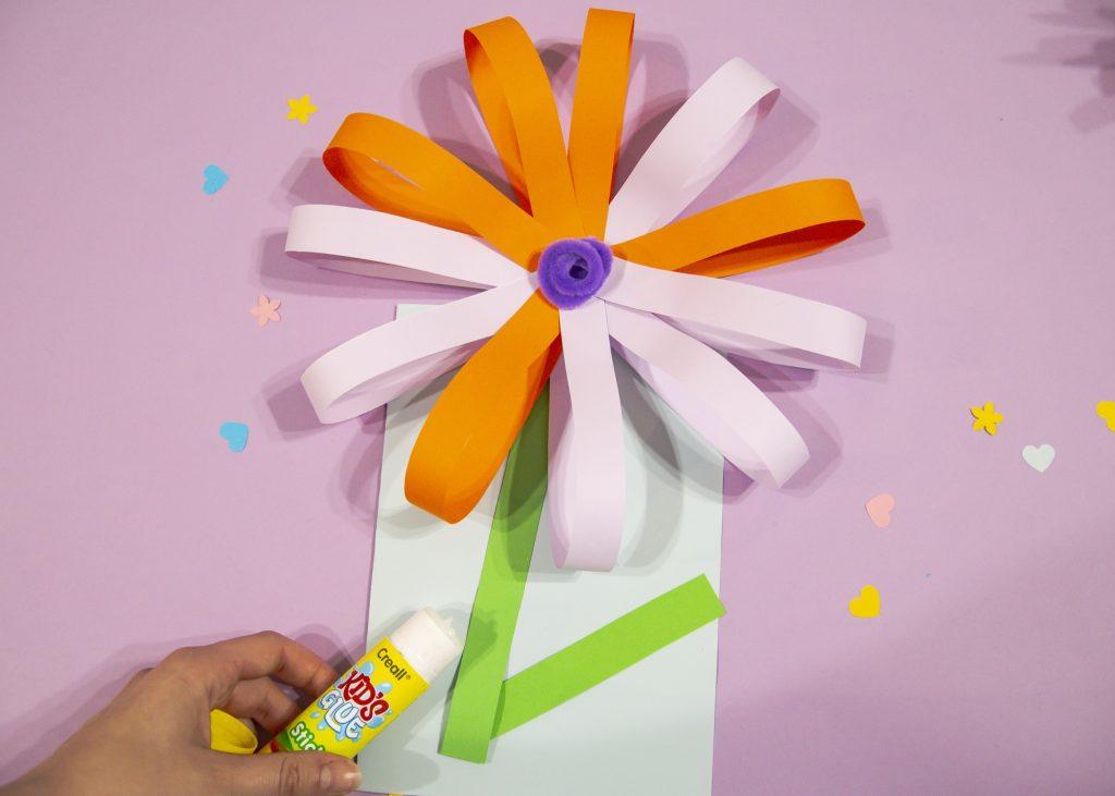 Fleur 3D - étape 8