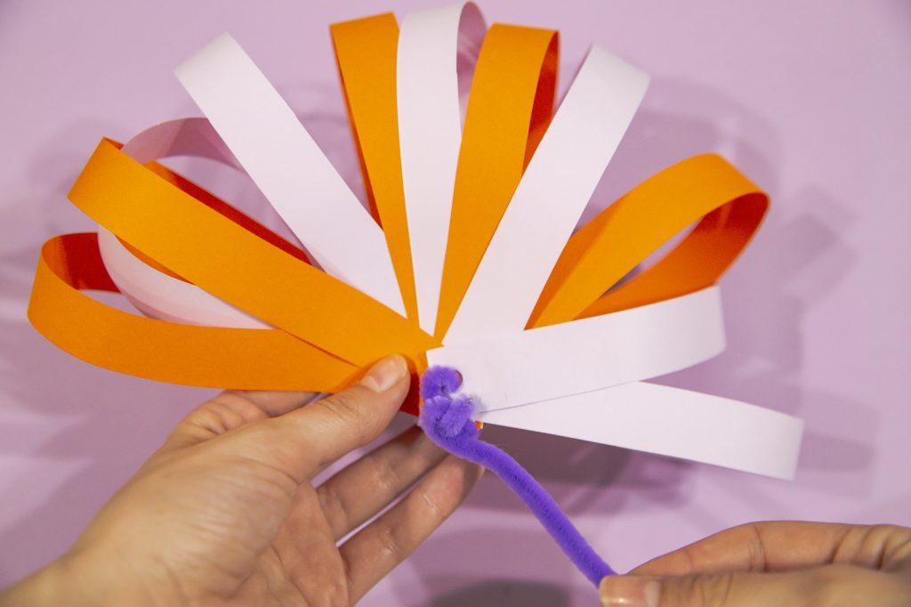 Fleur 3D - étape 7