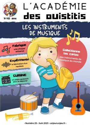 L'Académie des ouistitis et les instruments de musique