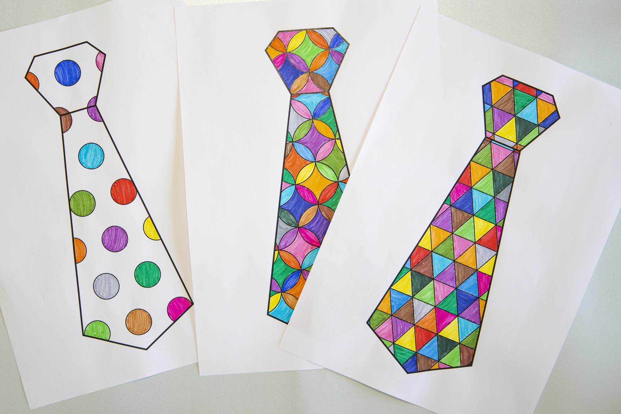 Cravates pour mon papa