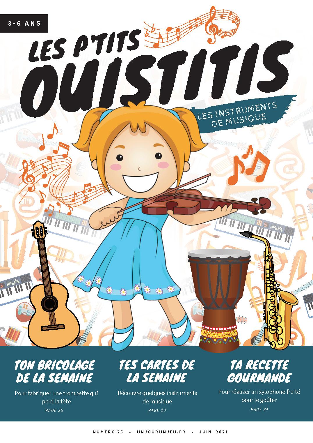 Les P'tits Ouistitis et les instruments de musique