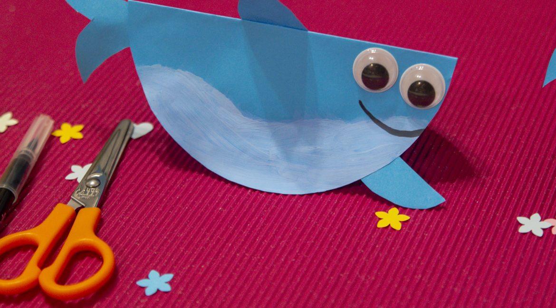Bricolage de la mer : Sharki le requin malin