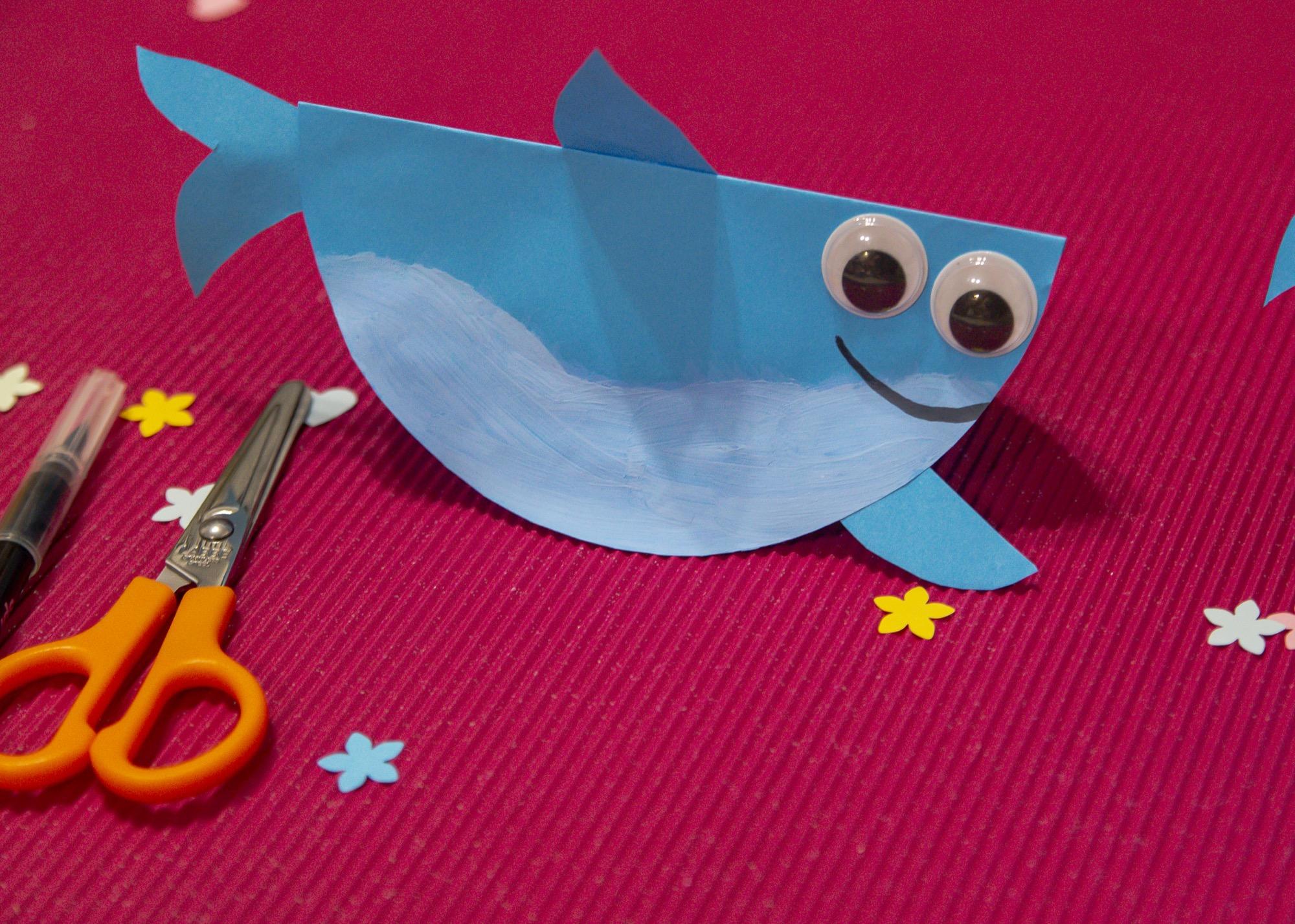 Bricolage de la mer : mes requins (pas très) malins !