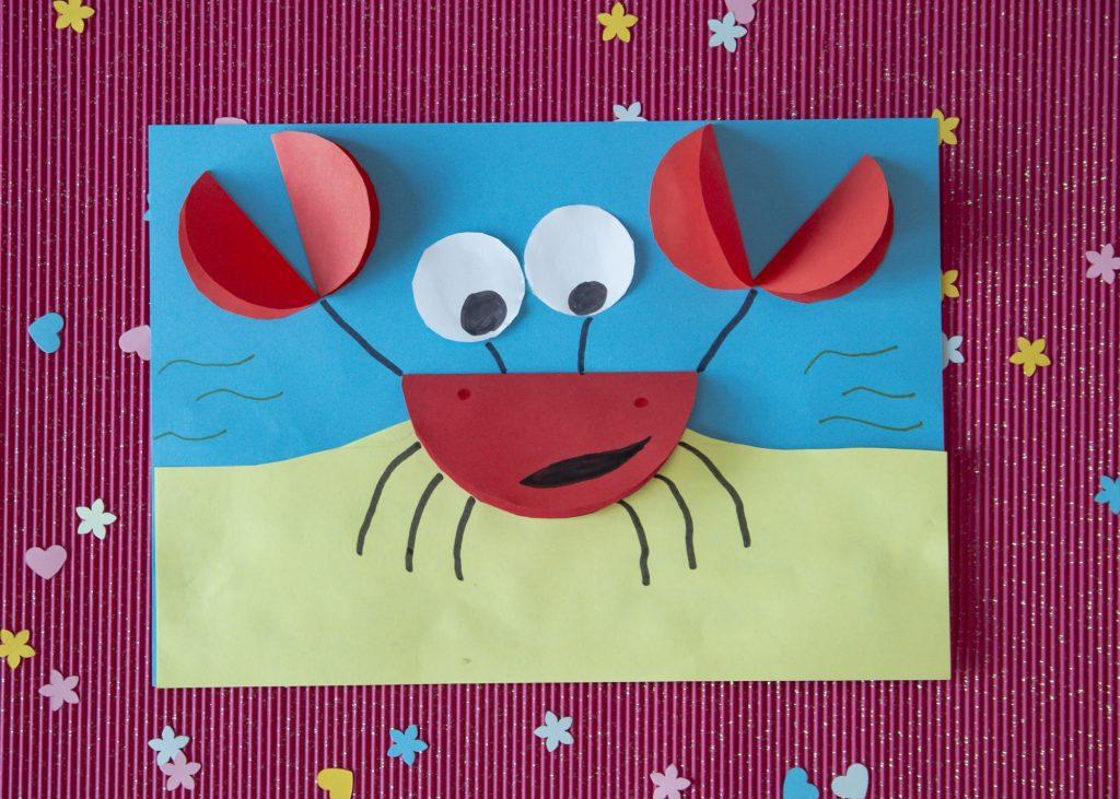 Mon crabe rigolo - terminé