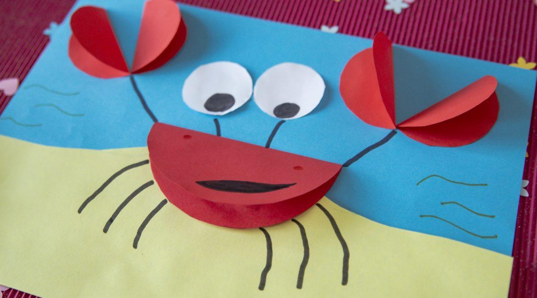 Mon crabe rigolo