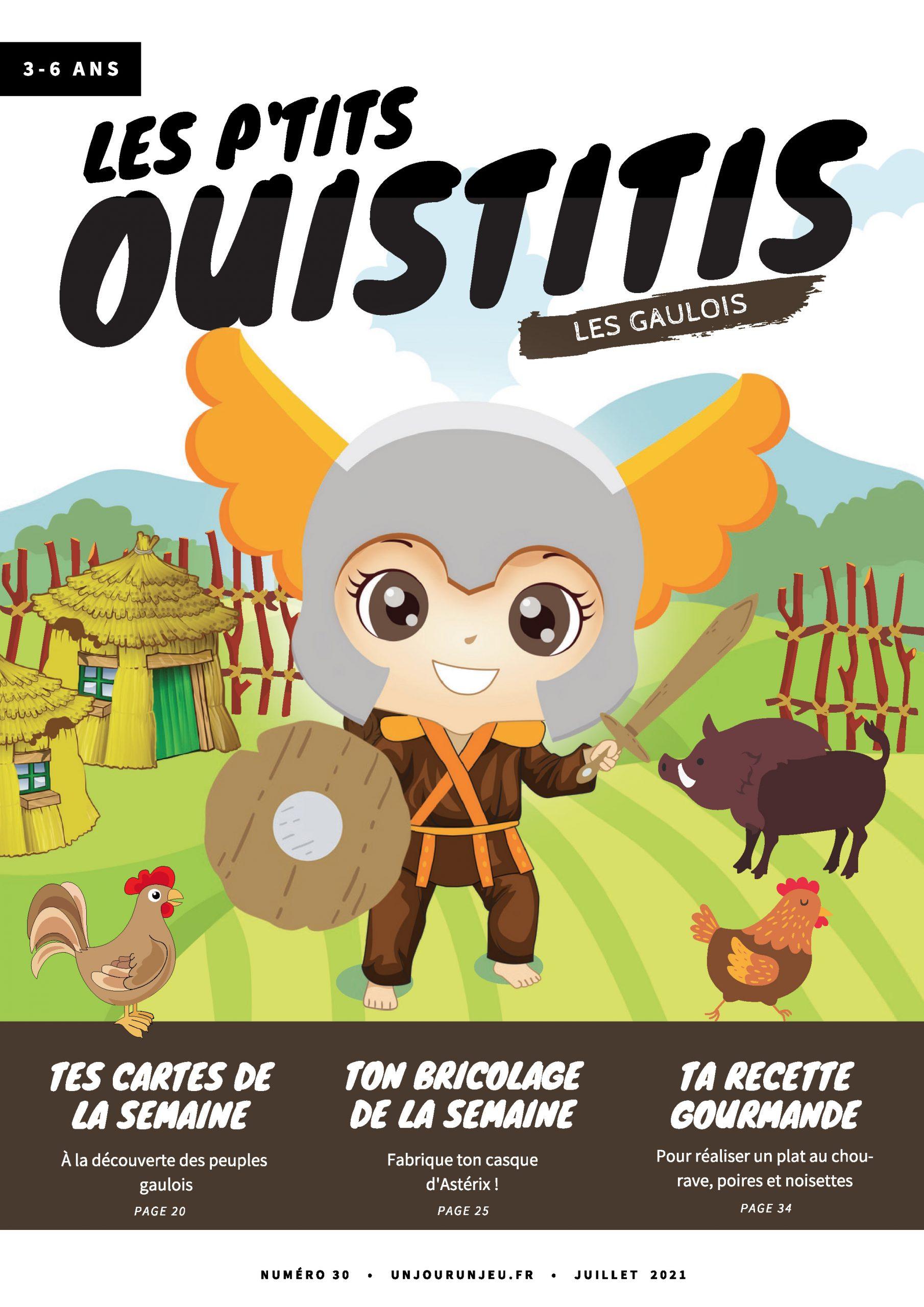 Les P'tits Ouistitis et les gaulois