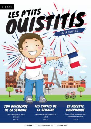 Les P'tits Ouistitis fête le 14 juillet