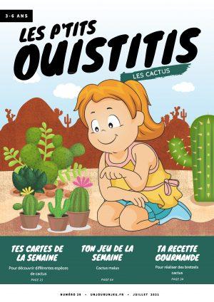 Les P'tits Ouistitis et les cactus
