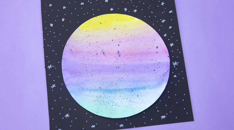 Ma planète en aquarelle