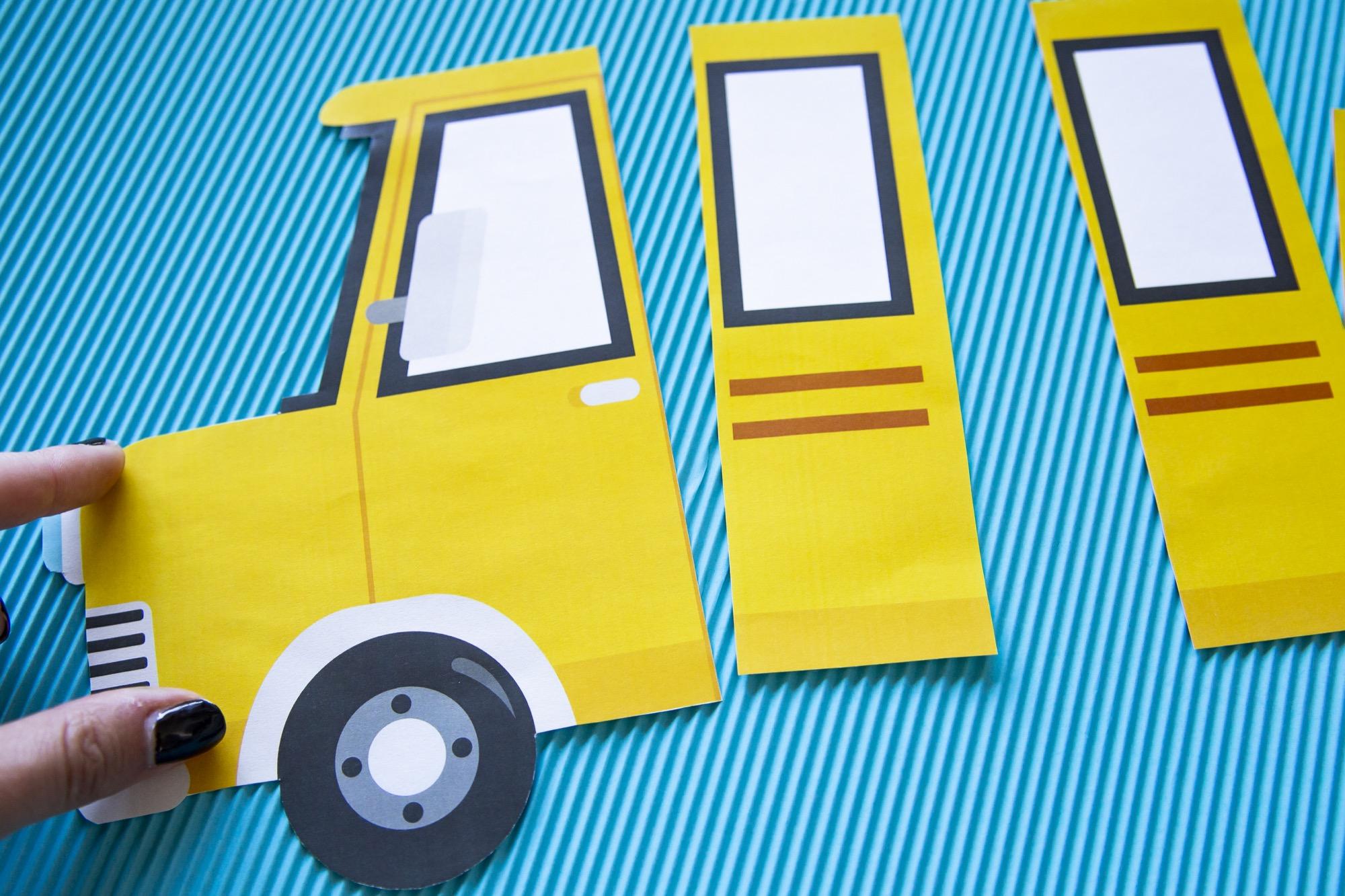 Fiche prénom bus scolaire - étape 6