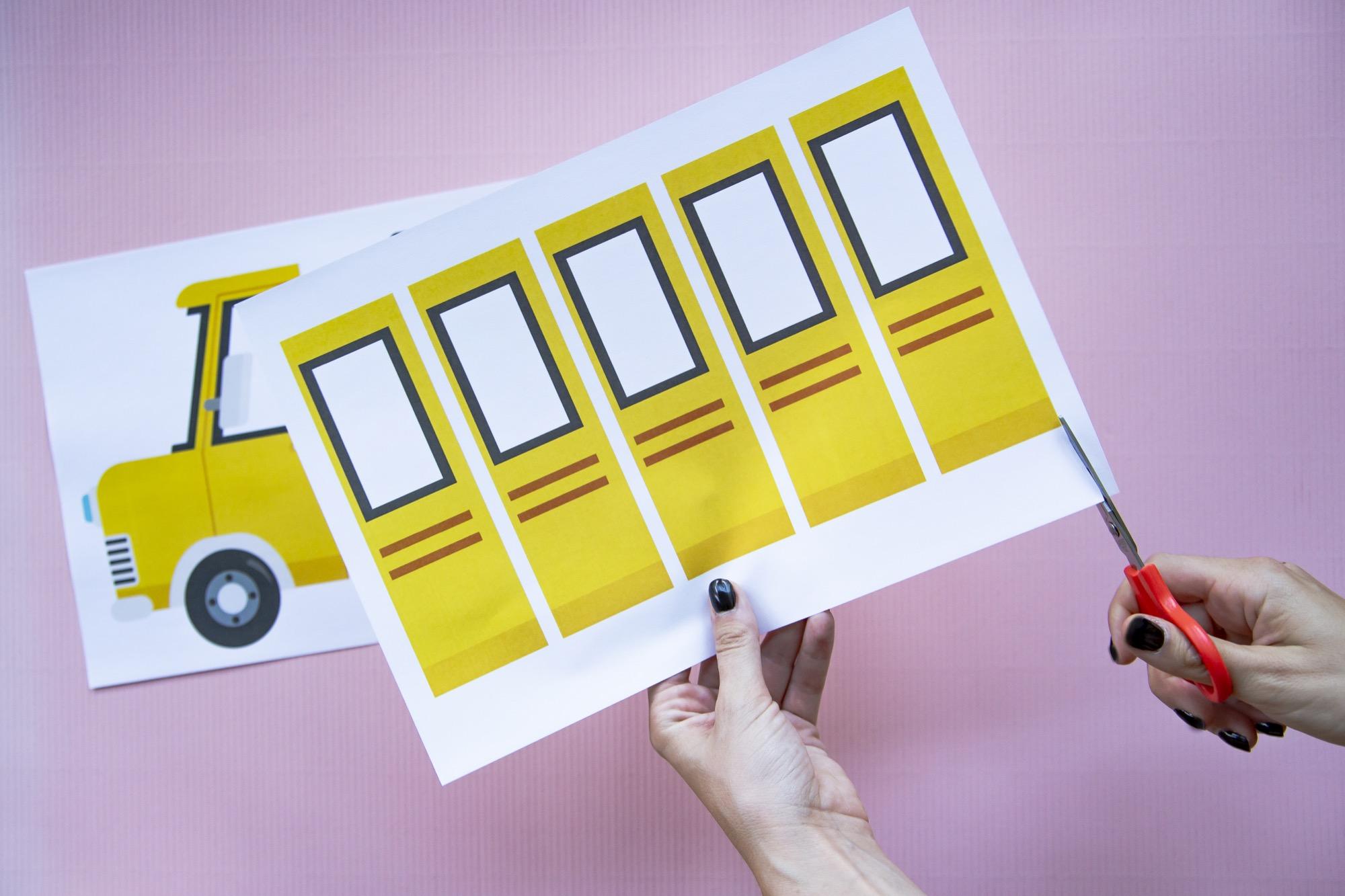 Fiche prénom bus scolaire - étape 2