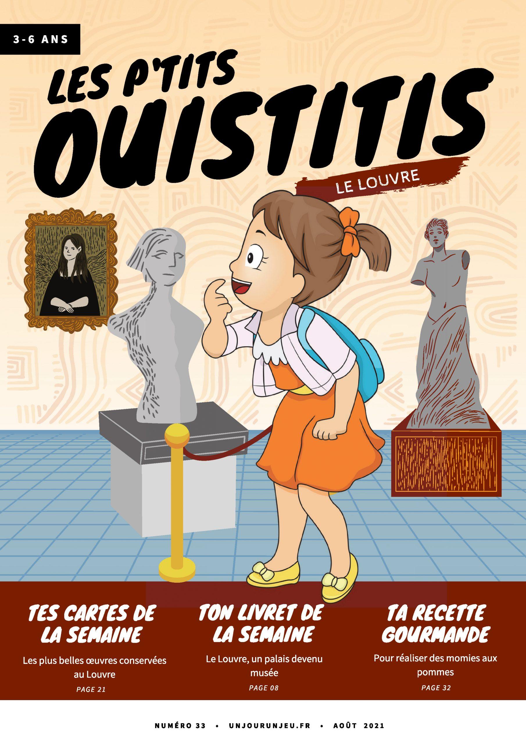 Les P'tits Ouistitis au Louvre