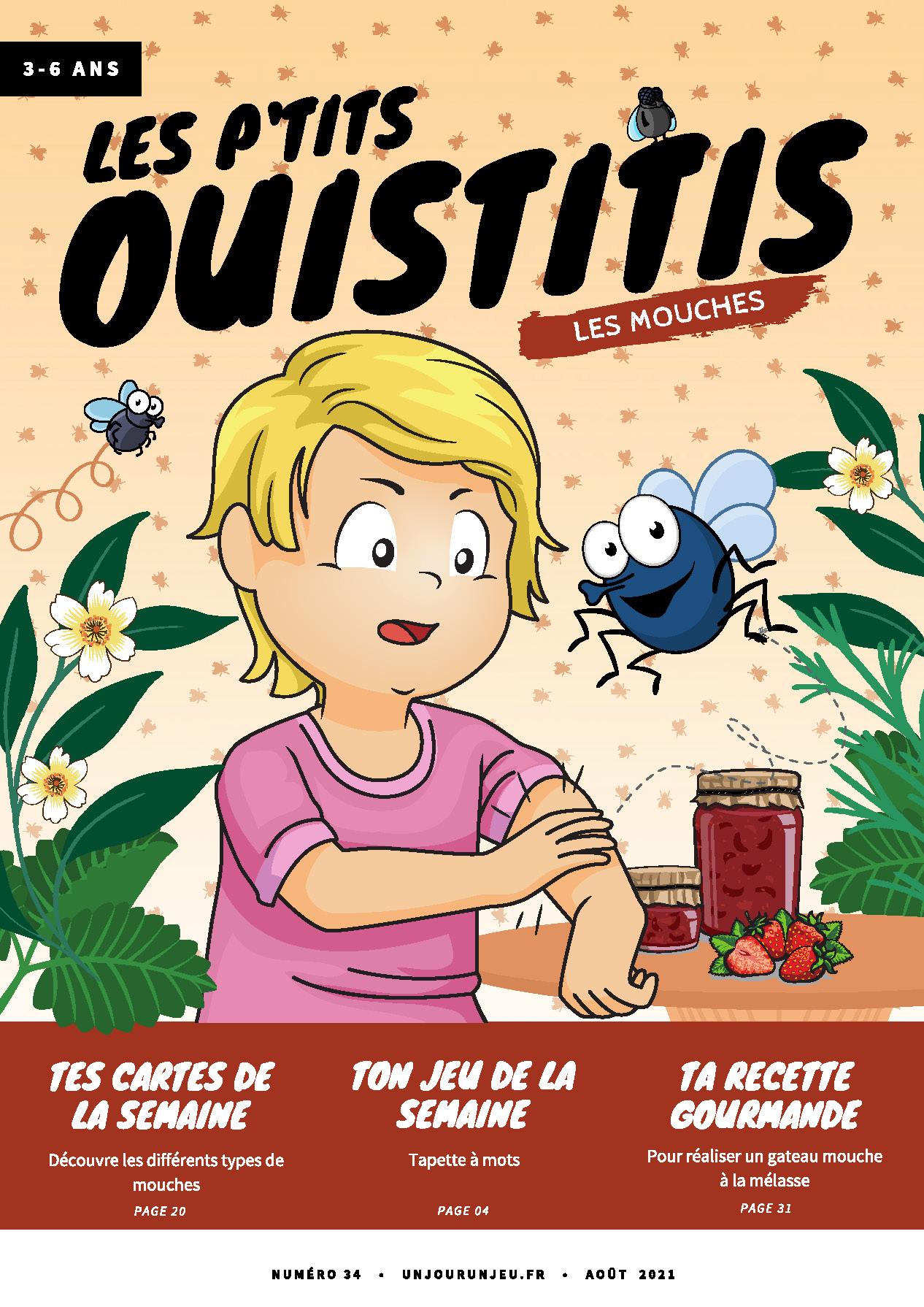 Les P'tits Ouistitis et les mouches