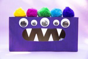 Ma boîte monstre mange émotions