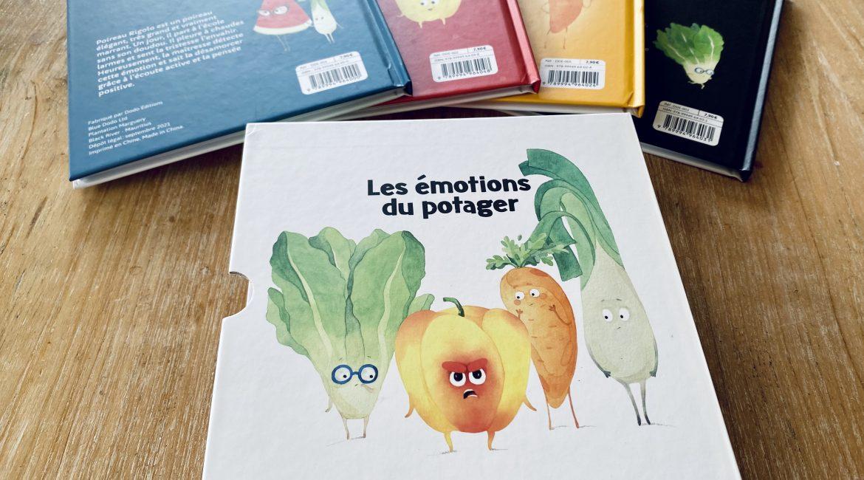 Coffret Les émotions du potager - Dodo Éditions