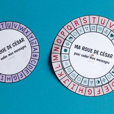Ma roue de César - étape 6