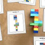 Fiches LEGO à reproduire