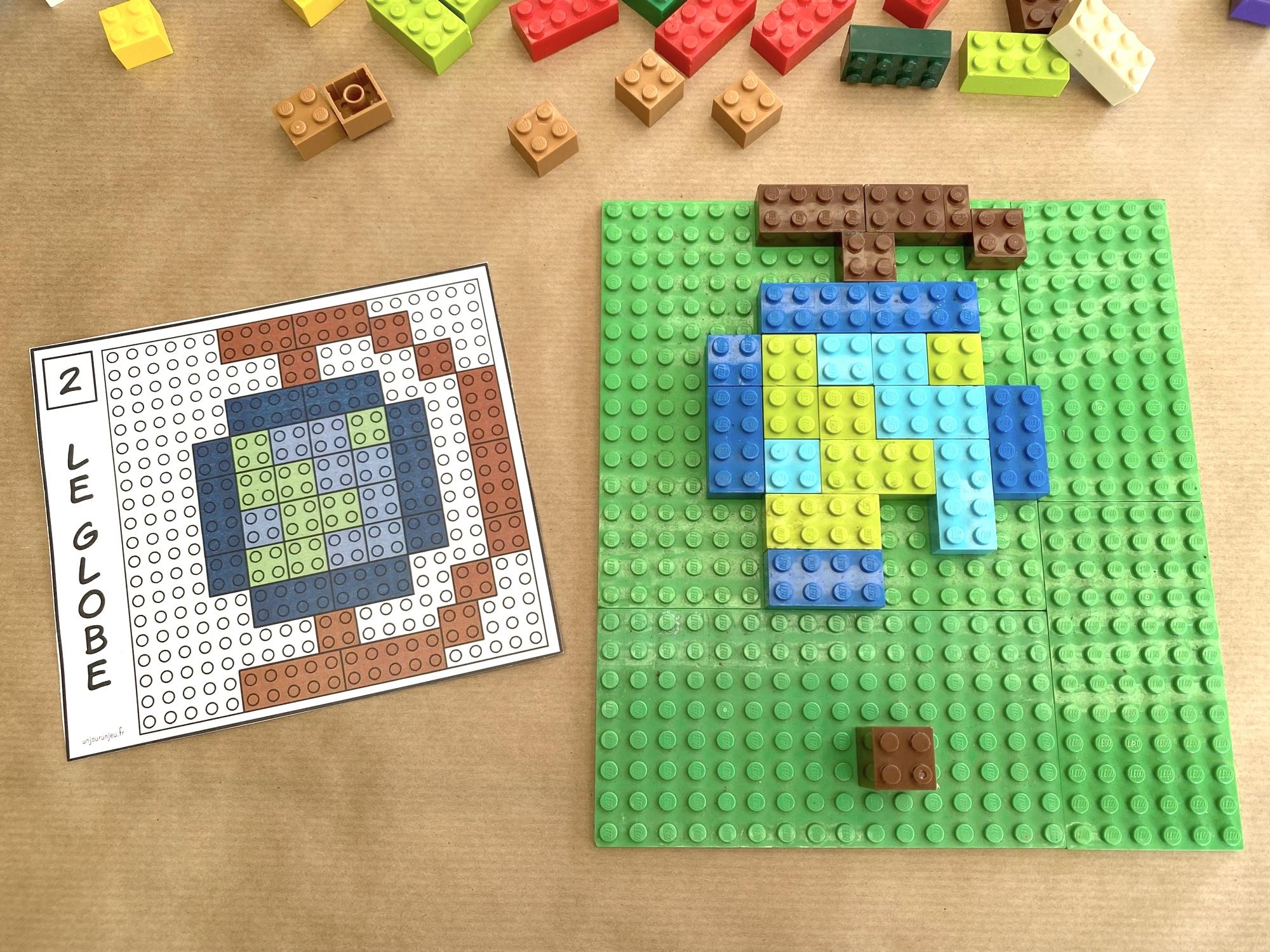 Modèles LEGO à reproduire - étape 3