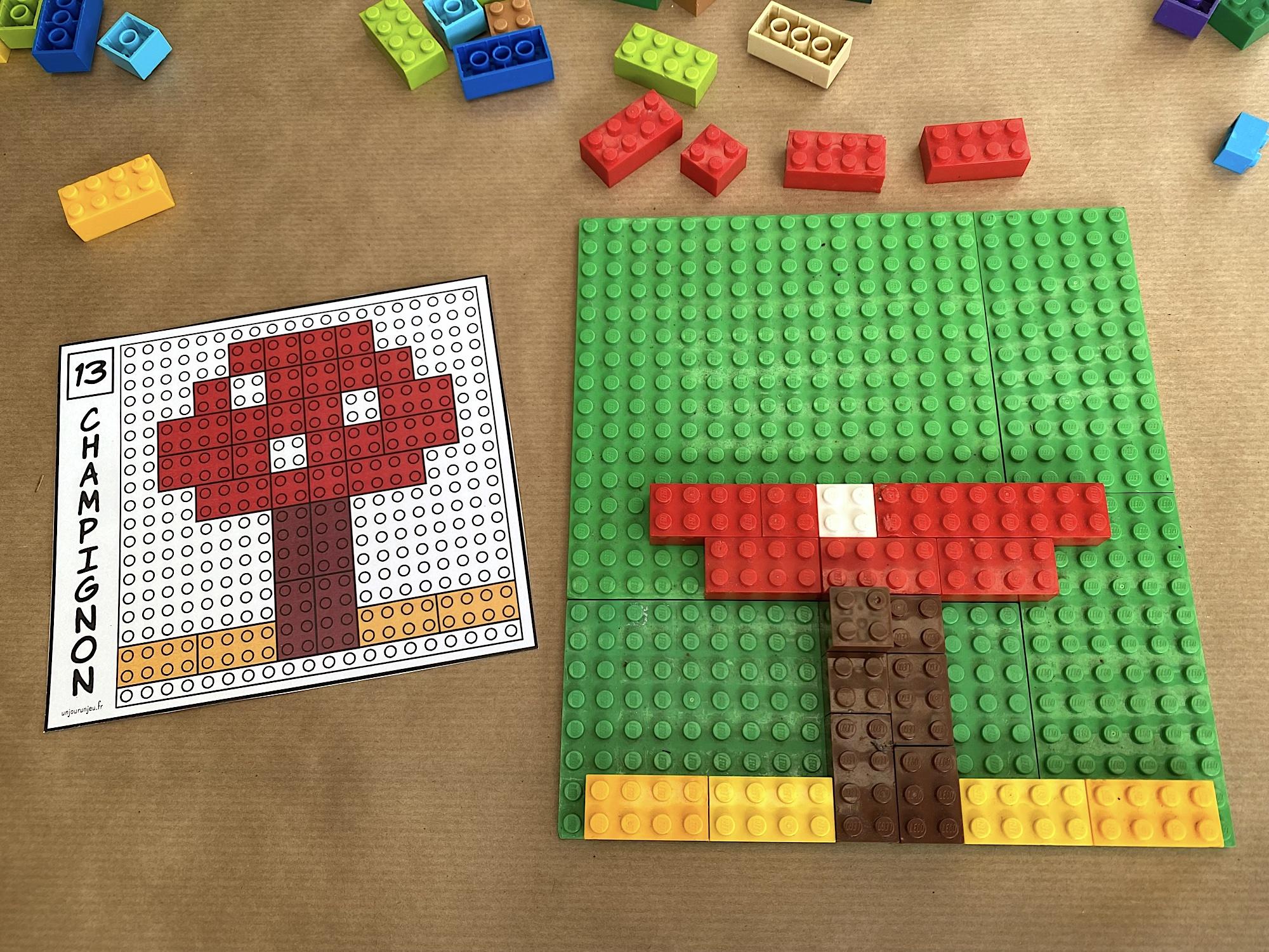 Modèles LEGO à reproduire - étape 5