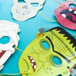Masques halloween à imprimer