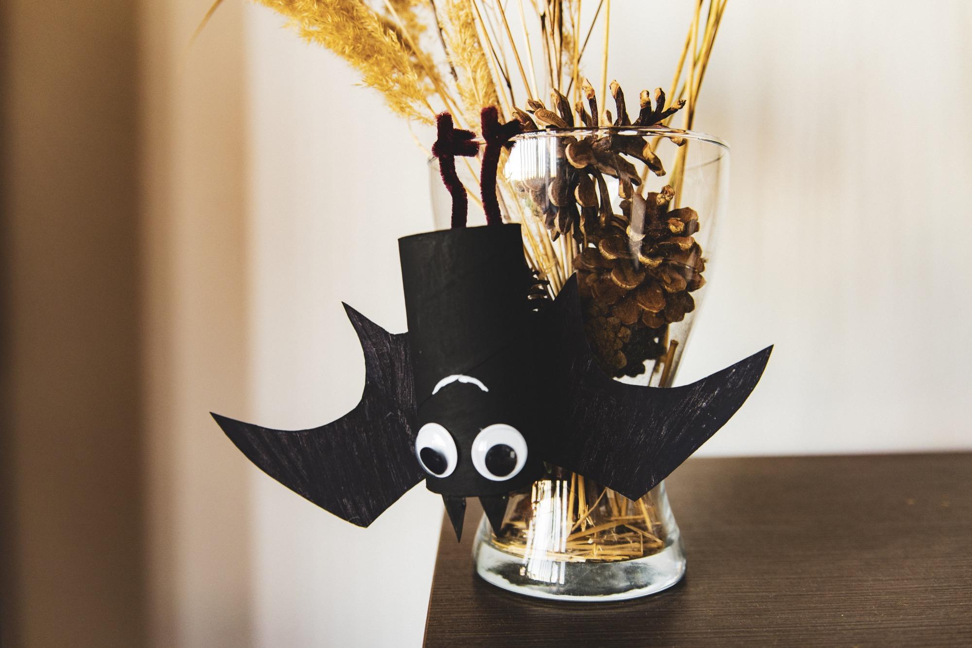 Bricolage : ma chauve-souris d'Halloween